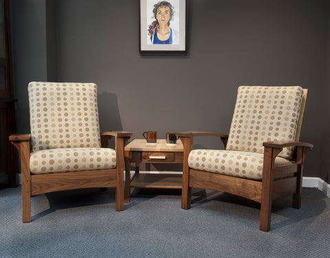 Walnut Morris Chairs