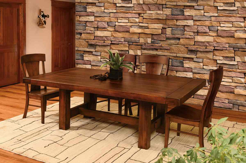 The best wood for your dining room table plain and for Dining table nashville tn