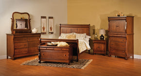 Old Classic Sleigh Bed (INT)