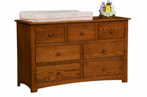 Montery 6 Drawer Dresser/Changing Table