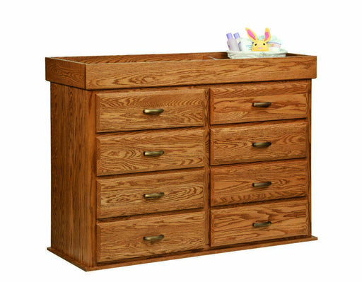 Reversible Changing Table/6 Drawer Dresser