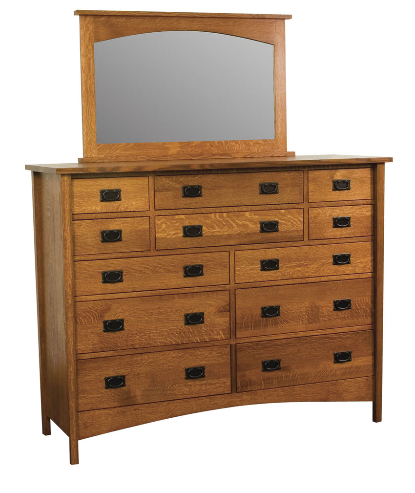 Arts & Crafts Mirror for 12 Drawer Dresser