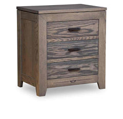 "Addison  30""H Nightstand, 3 Drawer"