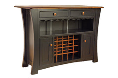 Arts & Crafts Bar Cabinet