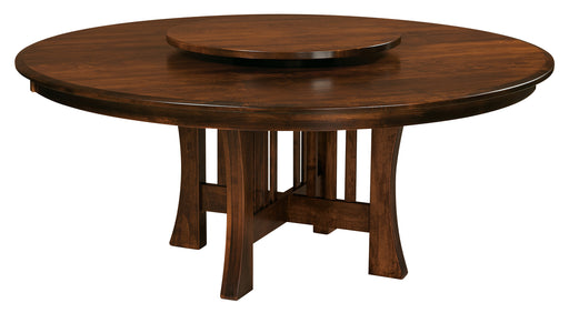 Arts & Crafts Pedestal Table (WP)