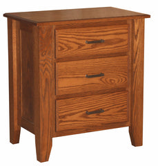 Ashton 3 Drawer Nite Stand