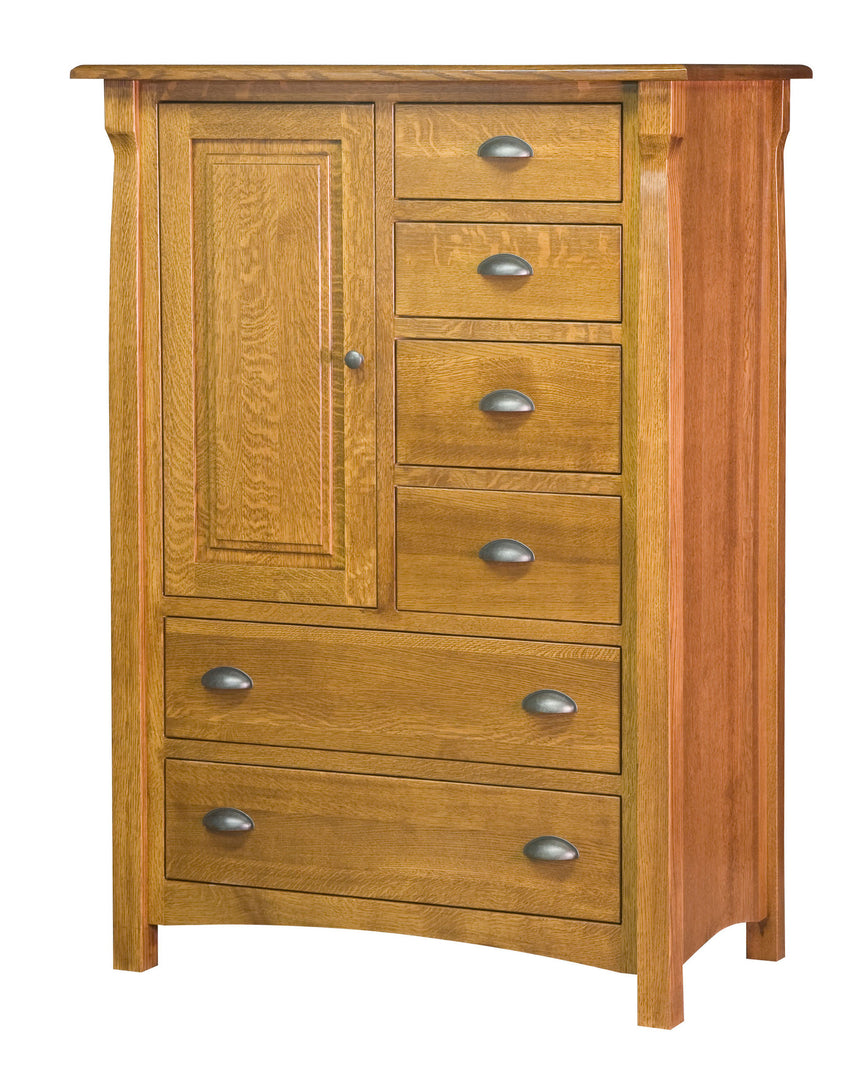 Canterbury 6 Drawer 1 Door Chest