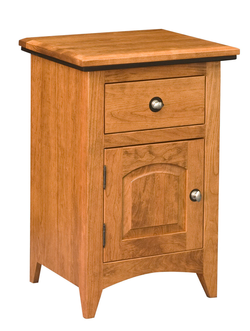 Classic Shaker 1 Drawer 1 Door Night Stand
