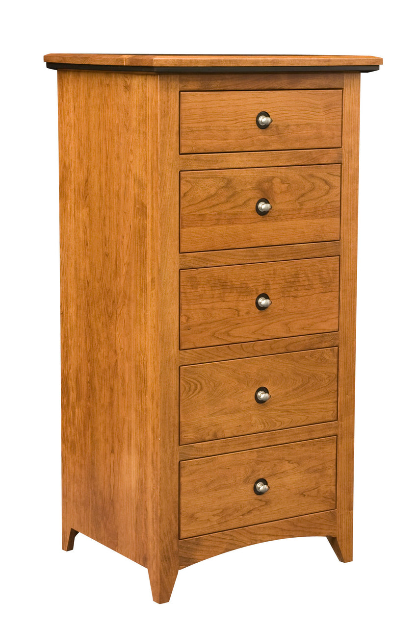 Classic Shaker 5 Drawer Lingerie Chest