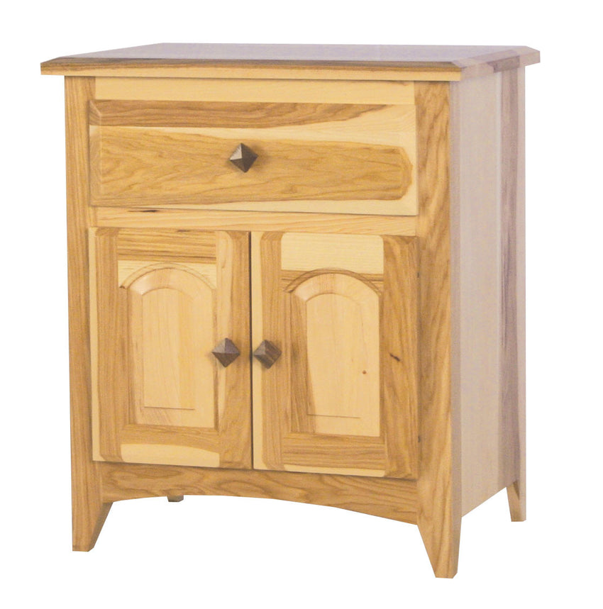 Shaker 1 Drawer 2 Door Night Stand