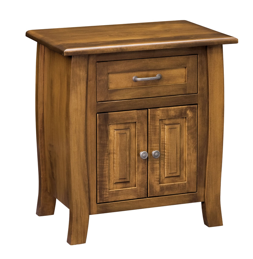 Batavia 1 Drawer 2 Door Night Stand