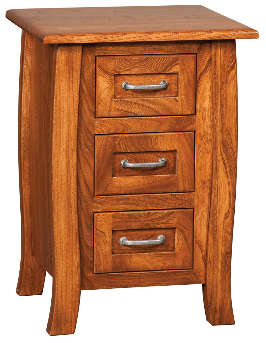 Batavia 3 Drawer Night Stand Small