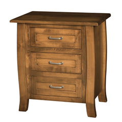 Batavia 3 Drawer Night Stand Large