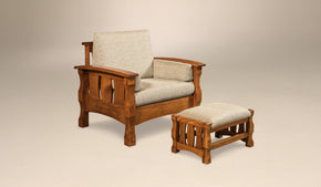 Balboa Chair and Footstool
