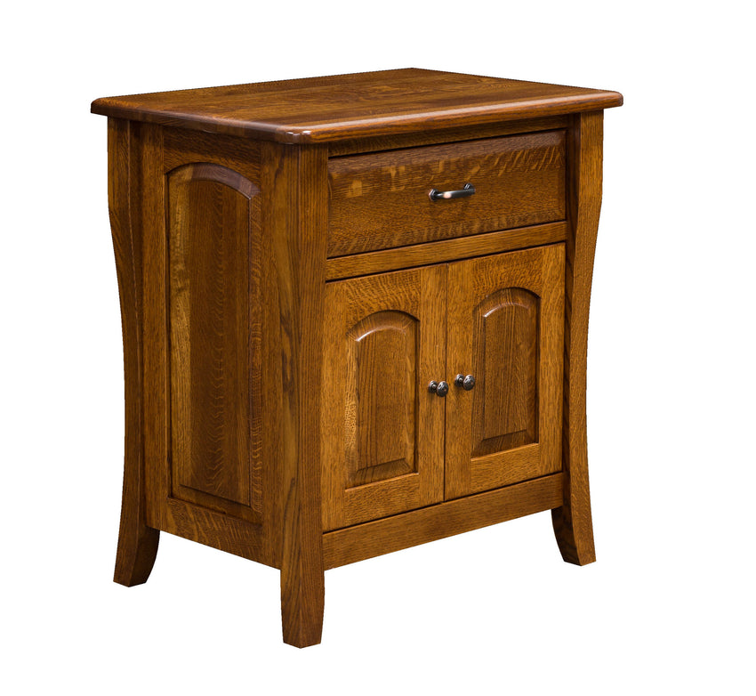 Berkley 1 Drawer 2 Door Night Stand