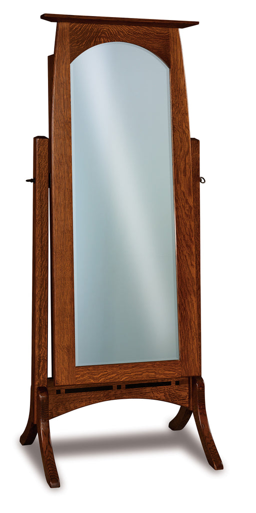 Boulder Creek Beveled Jewelry Mirror