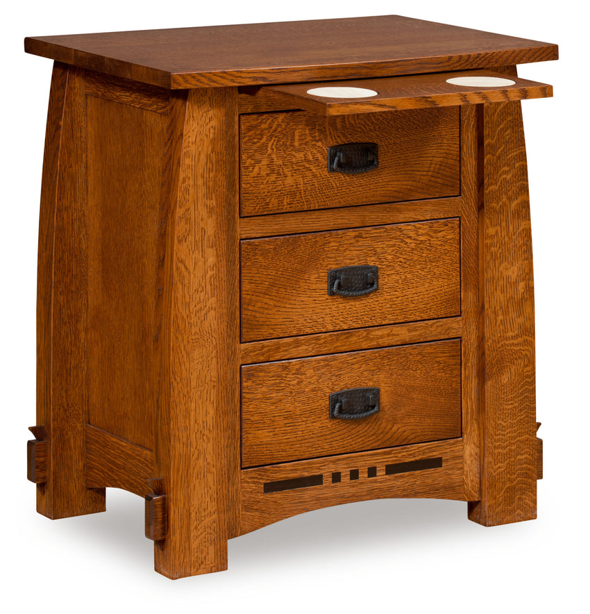 "Colebrook 30"" 3 Drawer Night Stand"