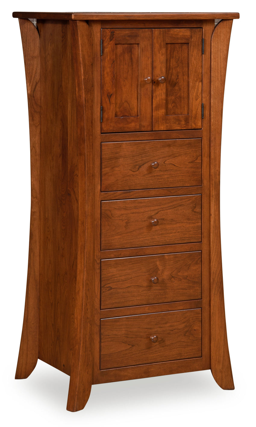 Caledonia Lingerie Chest, 4 Drawer, 2 Door