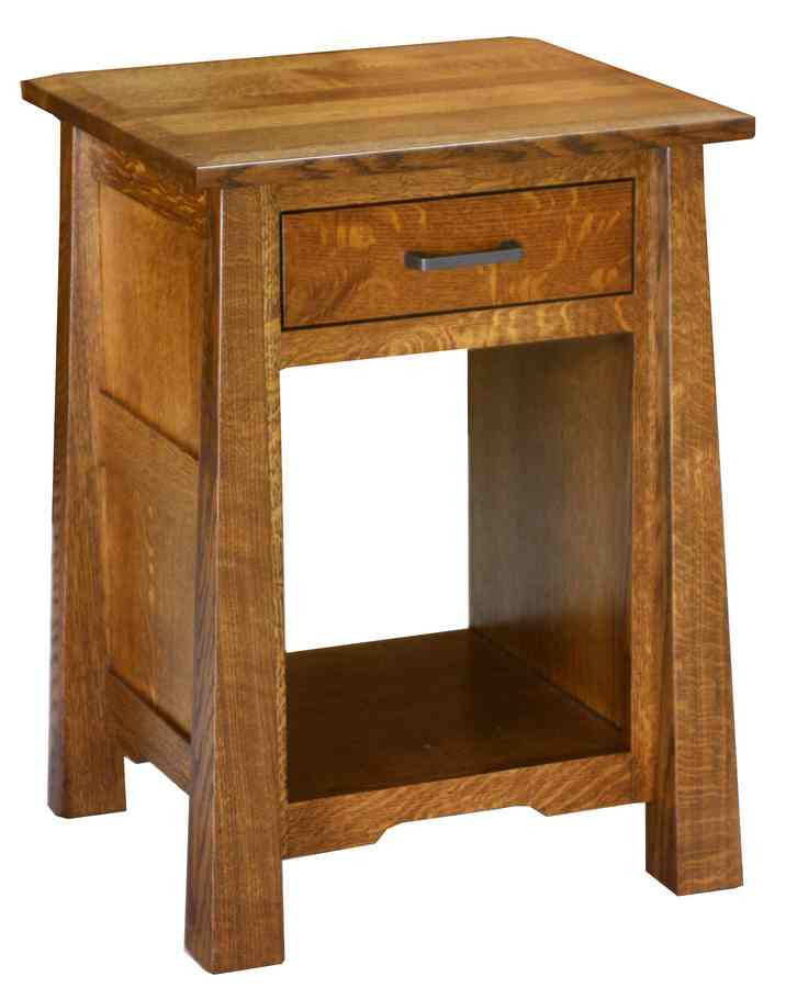 Cambridge 1 Drawer Open Nite Stand