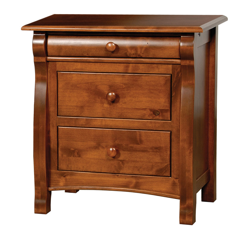 Castlebury 3 Drawer Night Stand