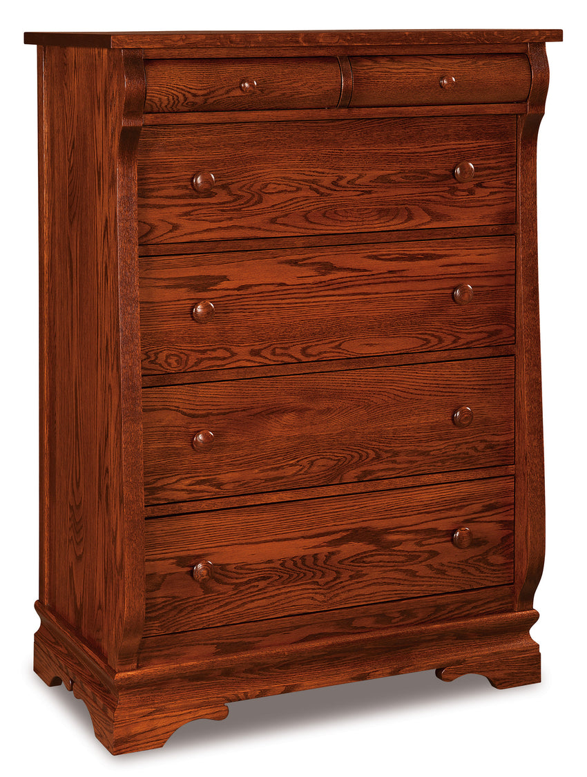 Chippewa Sleigh 6 Drawer Chest