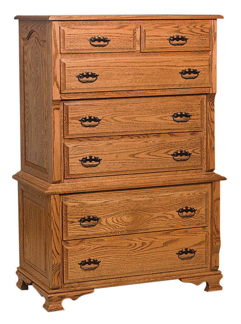 Classic Heritage Chest on Chest, 7 Drawers (2 pc.)