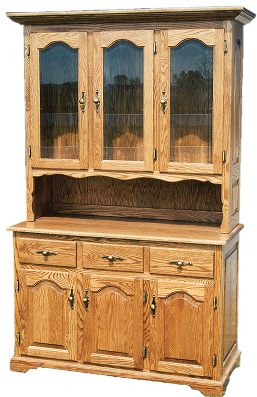 Classic Hutch with Open Deck