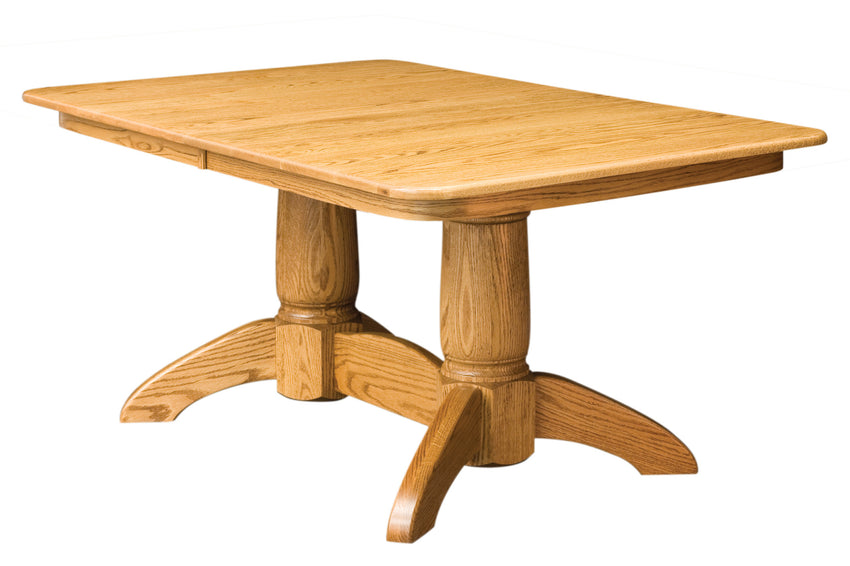 Tuscan Double Pedestal Table (NW)