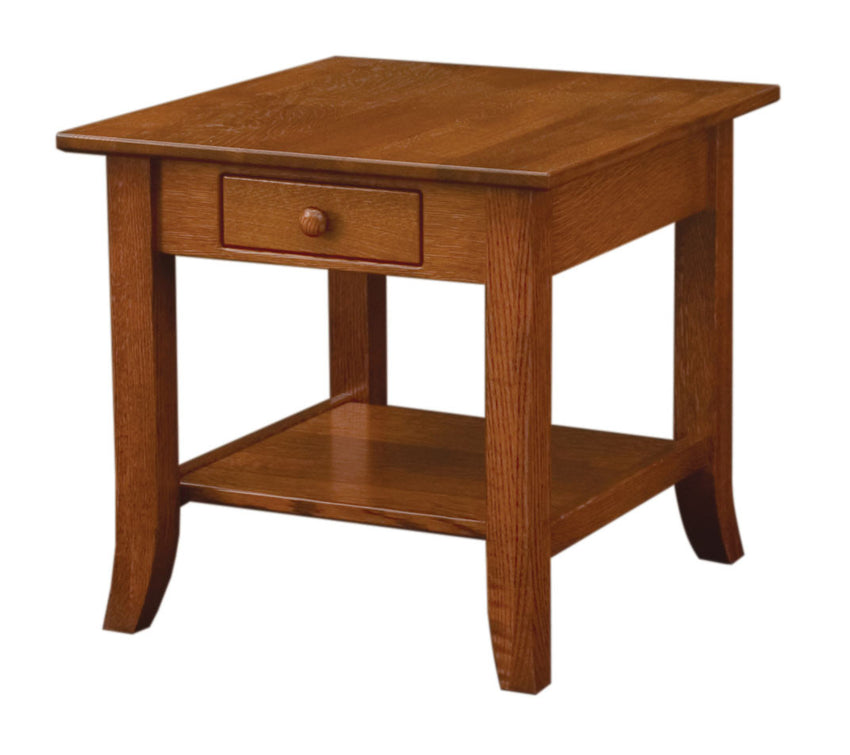 Dresbach End Table Open
