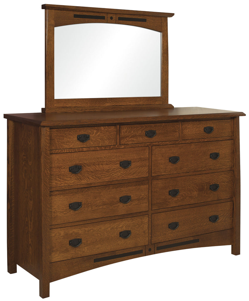 Bel Aire High 9 Drawer Dresser