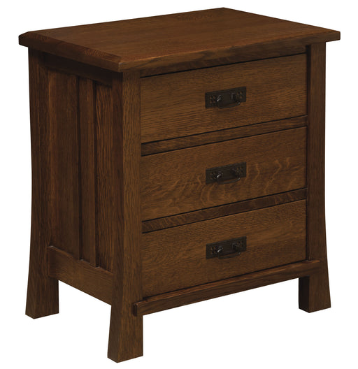 Grant 3 Drawer Nightstand