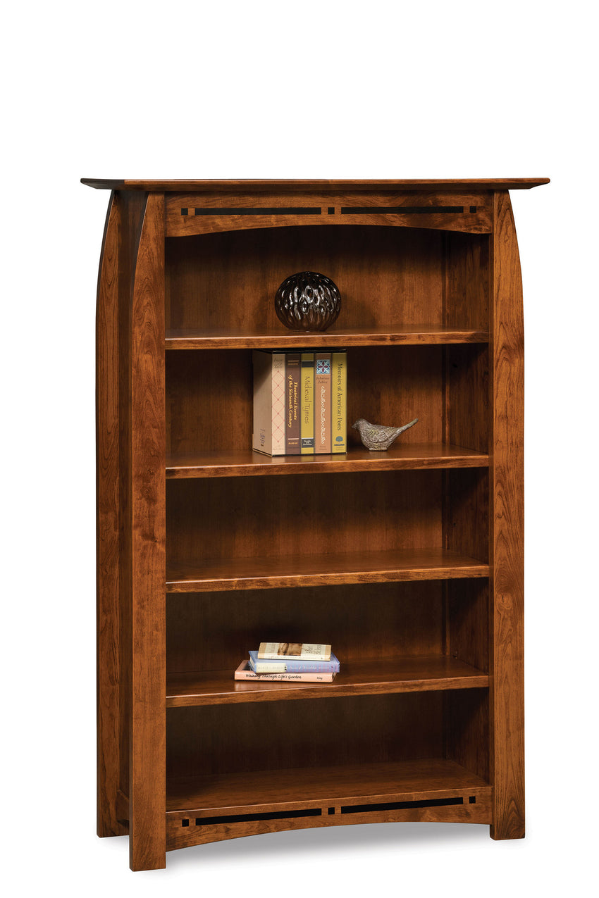 Boulder Creek 4 shelf bookcase