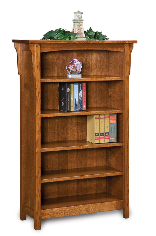 Bridger Mission 4 shelf bookcase