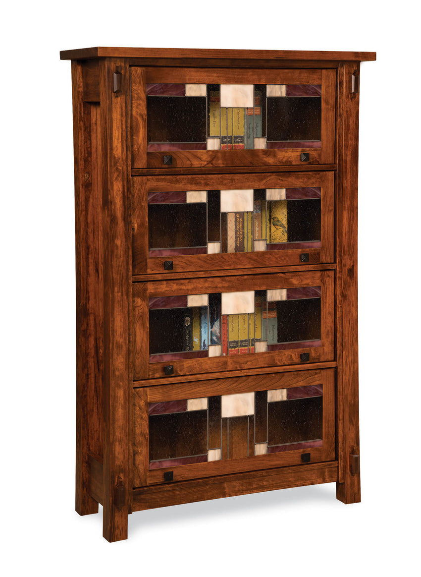 Craftsman 4 door barrister bookcase