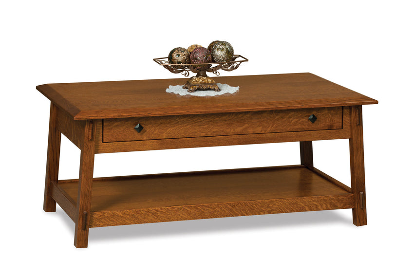 Colbran Open Coffee Table w/Drawer