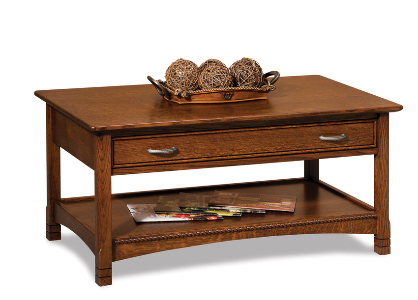 West Lake Open Coffee Table w/Drawer