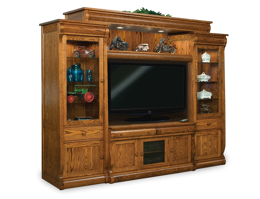 Old Classic Sleigh 6 pc. Wall Unit
