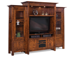"Artesa 45½"" & 50½"" Wide TV area, 3 pc. Wall Unit"