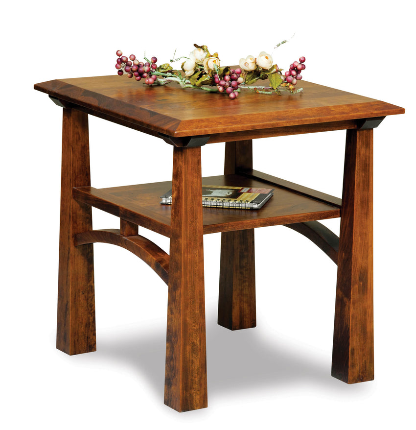 Artesa Open End Table w/Shelf