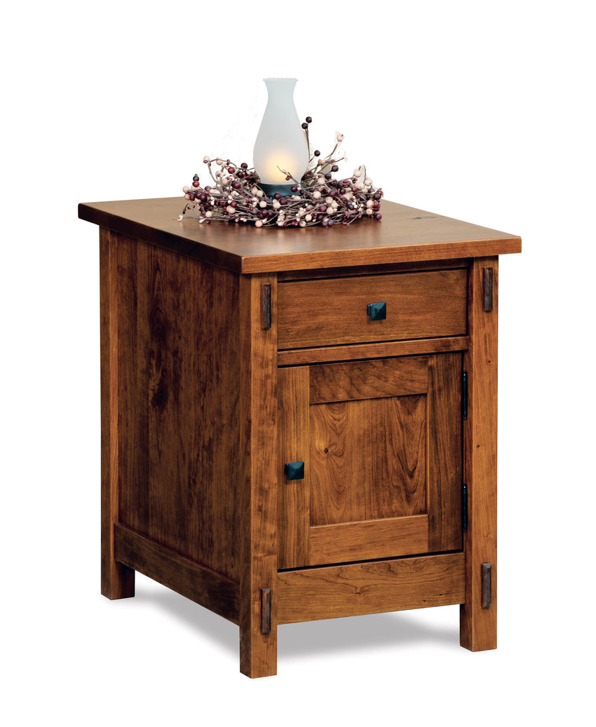 Centennial Enclosed End Table w/Drawer & Door