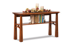 Artesa Open Sofa Table w/Shelf