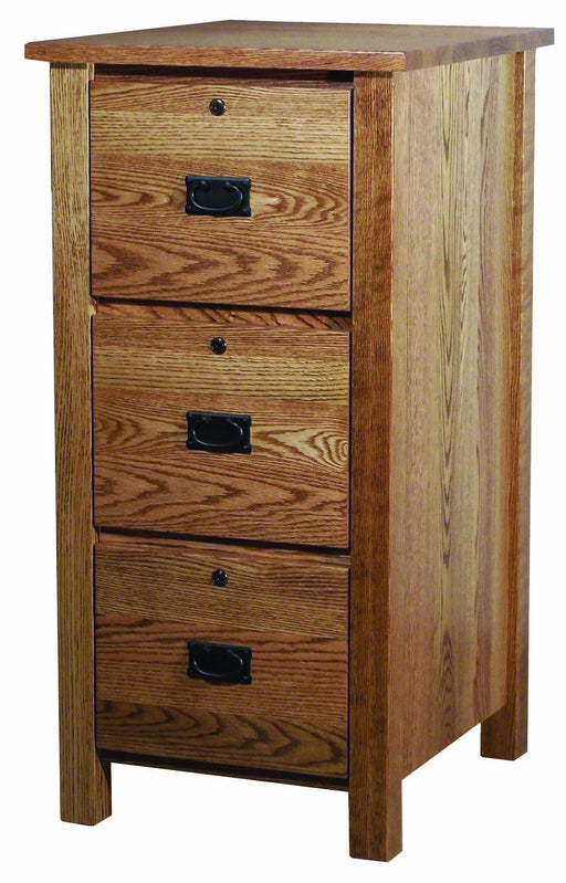 Classic Mission 3 Drawer File Cabinet