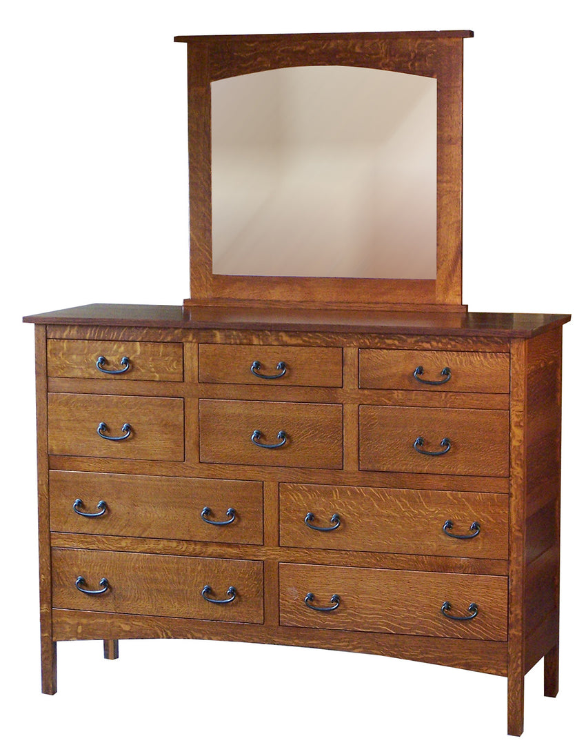 Granny Mission 10 Drawer Mule Dresser