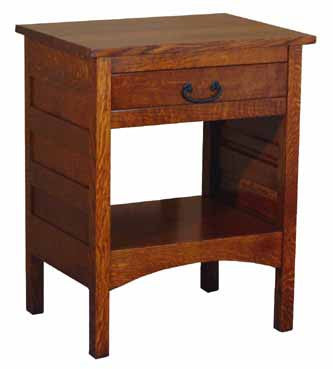Granny Mission 1 Drawer Open Nite Stand