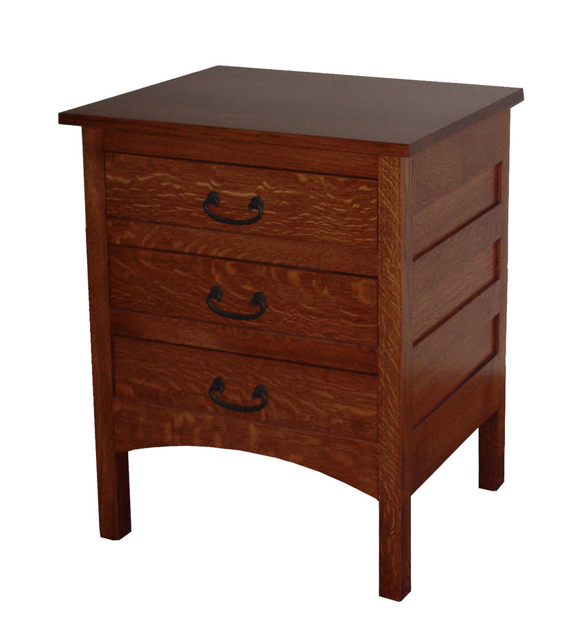 Granny Mission 3 Drawer Nite Stand