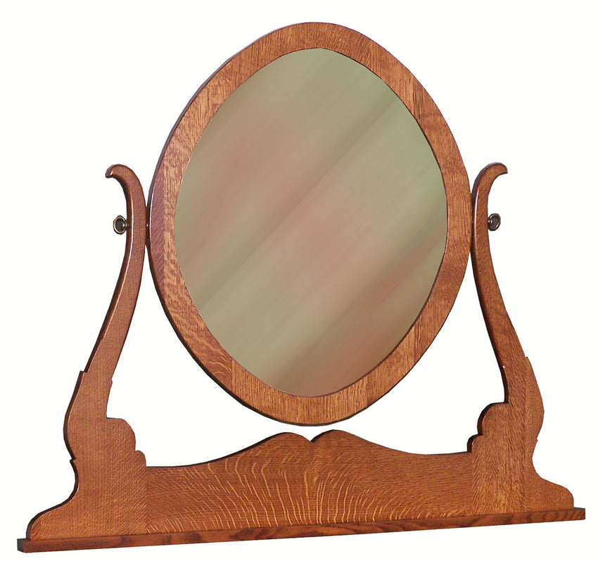 Granny Mission Oval Mirror