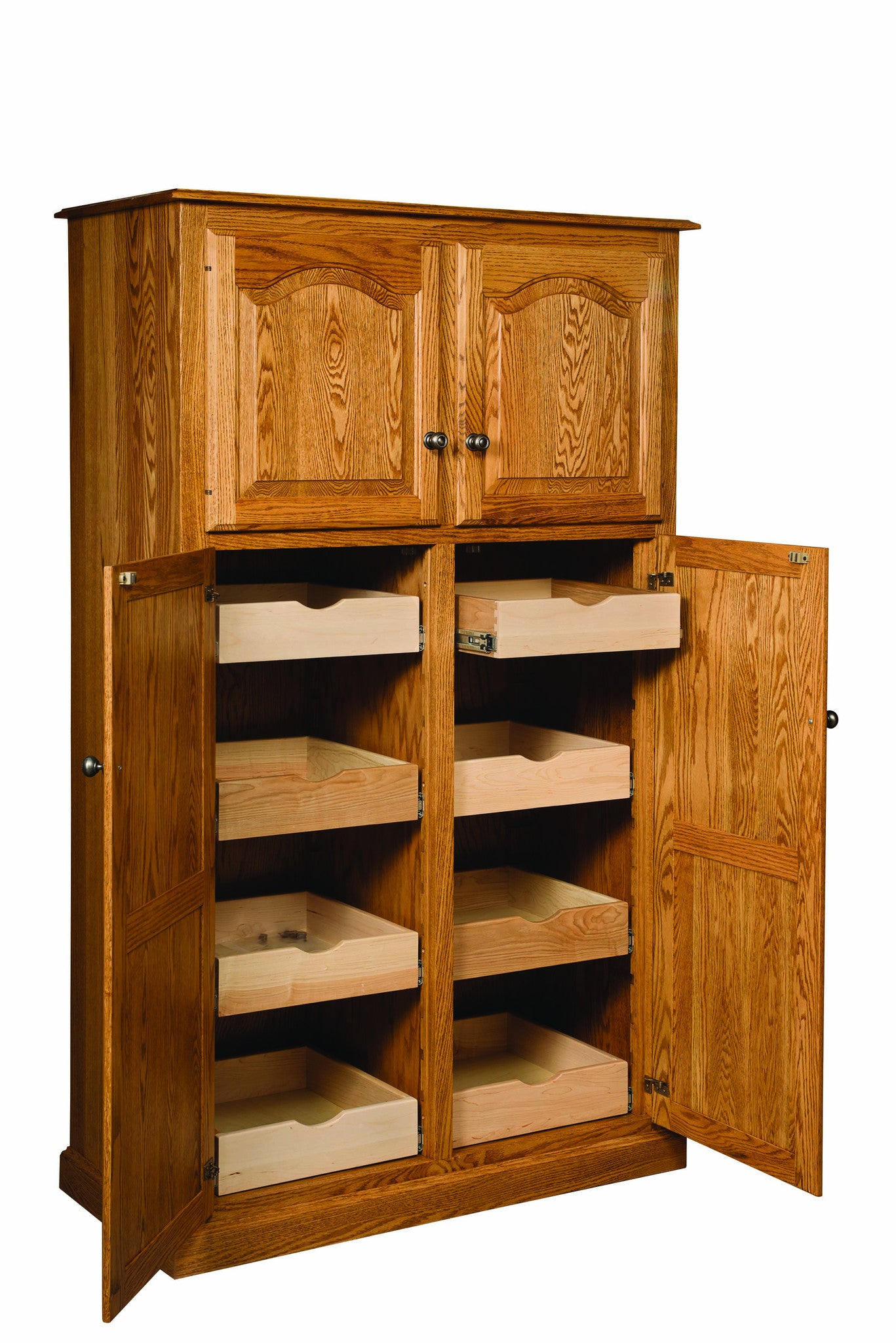 Lux Traditional 4 Door Pantry W/rollout Shelf