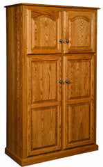 Lux Traditional 4-Door Pantry w/rollout shelf