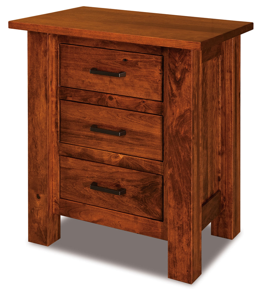 Heidi 3 Drawer Nightstand