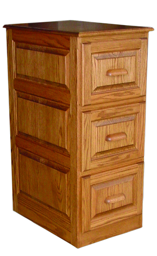 Deluxe 2 Drawer File Cabinet Traditional Style